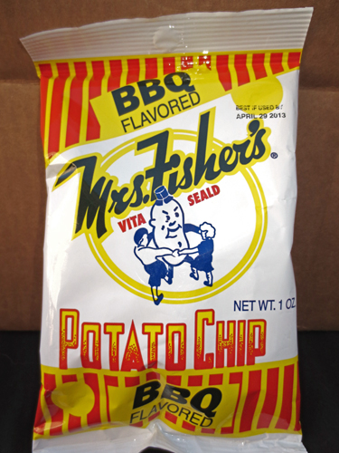 Mrs. Fisher's Chips Bag