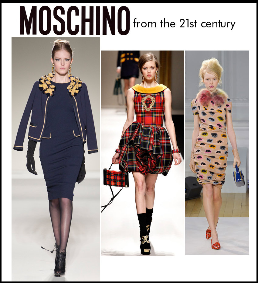 Moschino in the 21st century