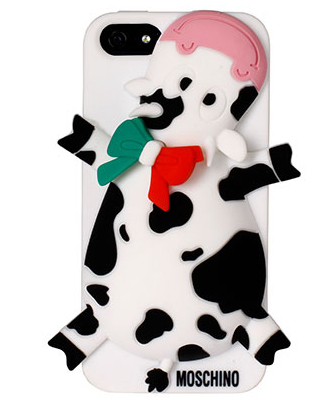 Moschino cow iphone case cover