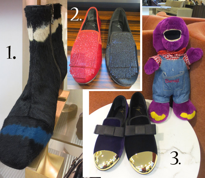 shoes from barneys NY store