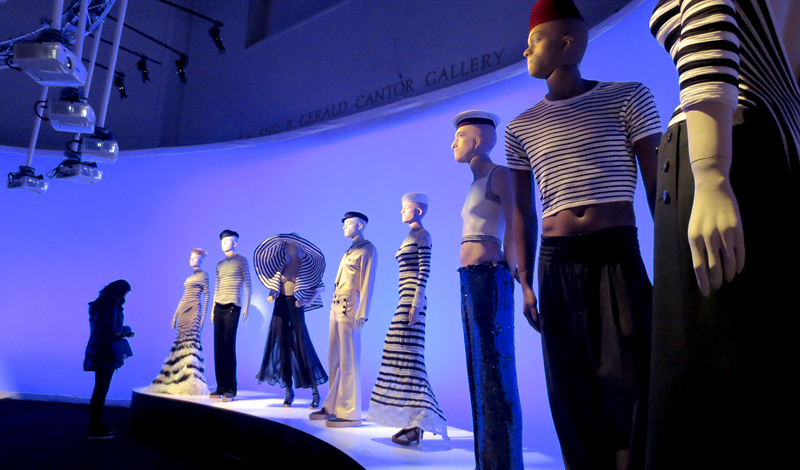 the Sailor collection Gaultier Brooklyn museum