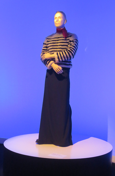 Gaultier mannequin at Brooklyn museum