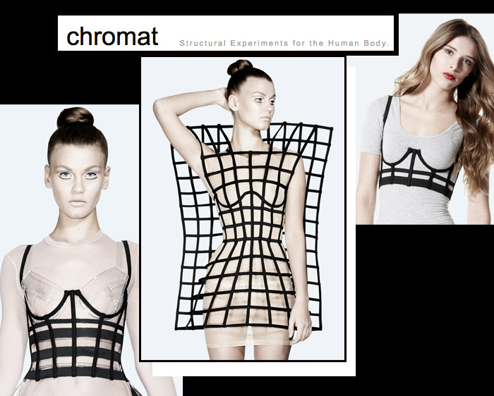 Chromat Garments - undergarments on the outside