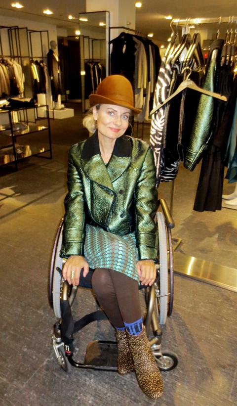 Carven Jacket at Barneys NY store and PrettyCripple