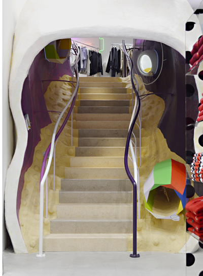 Dover St Market NY staircase