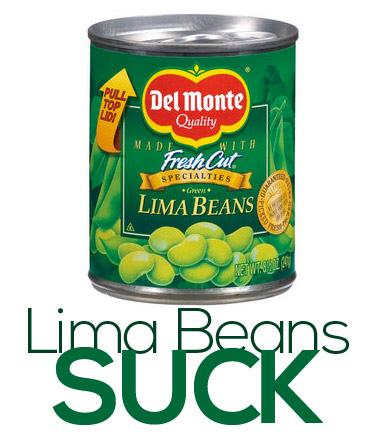 Lima Beans SUCK