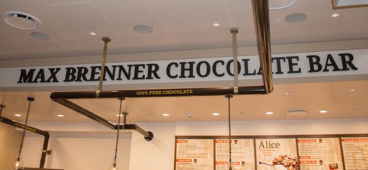 100% chocolate at Max Brenner