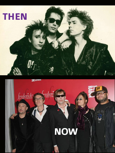 Psychedelic Furs then and now