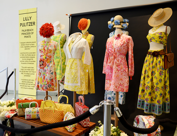 Lilly Pulitzer exhibit Manhattan Vintage Show