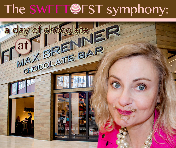 Sweetest symphony- my day eating chocolate at Max Brenner in Paramus, NJ