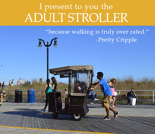 Adult strollers in Atlantic City NJ