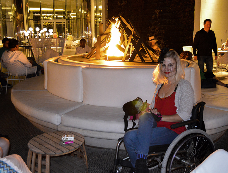 wheelchair girl Revel Hotel Atlantic City AC