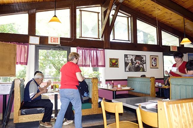 Rosies coffee shop interior rockland county diner