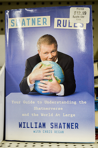 Shatner rules book