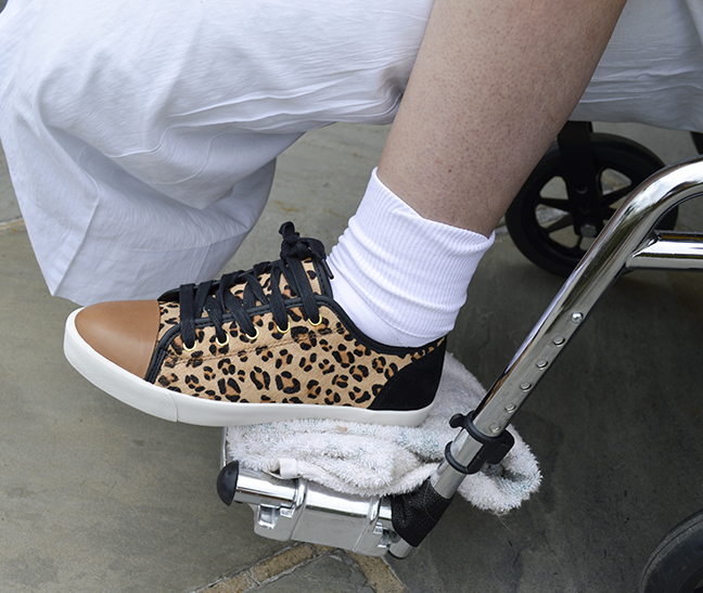 KG Kurt Geiger leopard sneaker