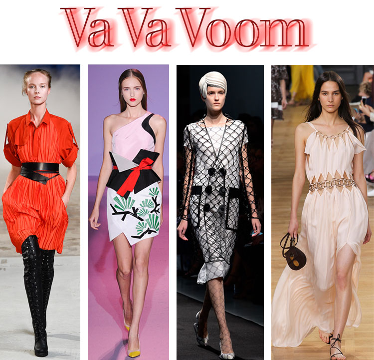 Sexy looks from the Spring 2015 Paris Fashion Week shows