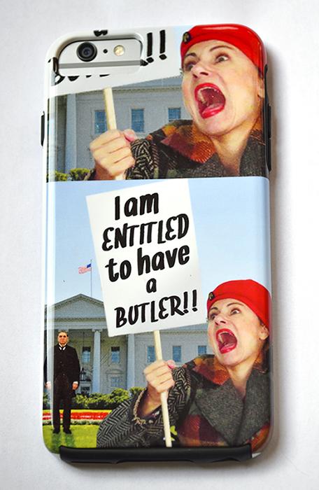 Pretty Cripple Butler Crazy Custom iPhone 6 Plus case