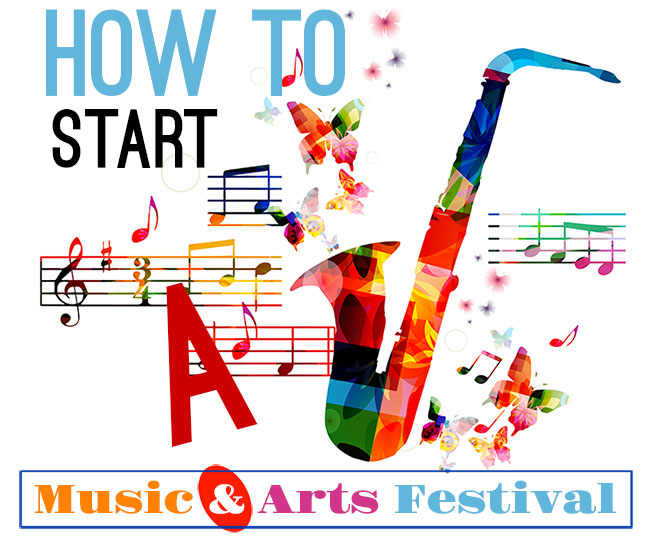 how to start a music festival